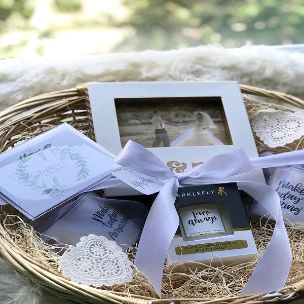 Handmade Wedding Gift Baskets