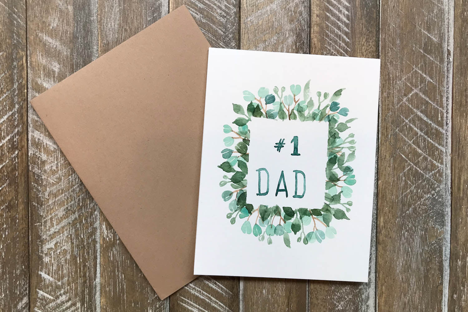 Hand painted greeting cards for dad hand painted greeting cards for dad in greeting cards m4hsunfo