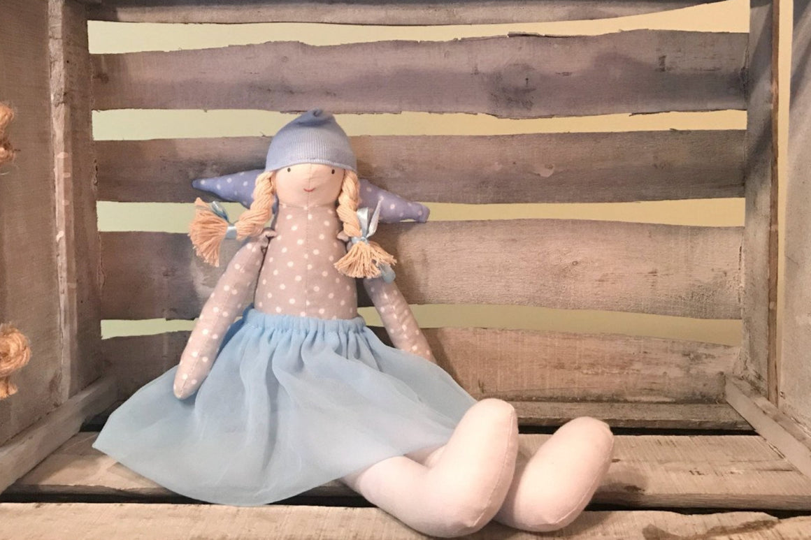 Children Gifts - Angel Tilda Decor (Medium) in decor for kids' room