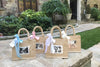 Baby Shower Thank You Gift Bags (Small w/Window) in Handmade Gift Bags