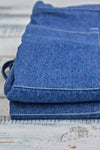 Short Denim Apron and Complimentary Linen Napkin