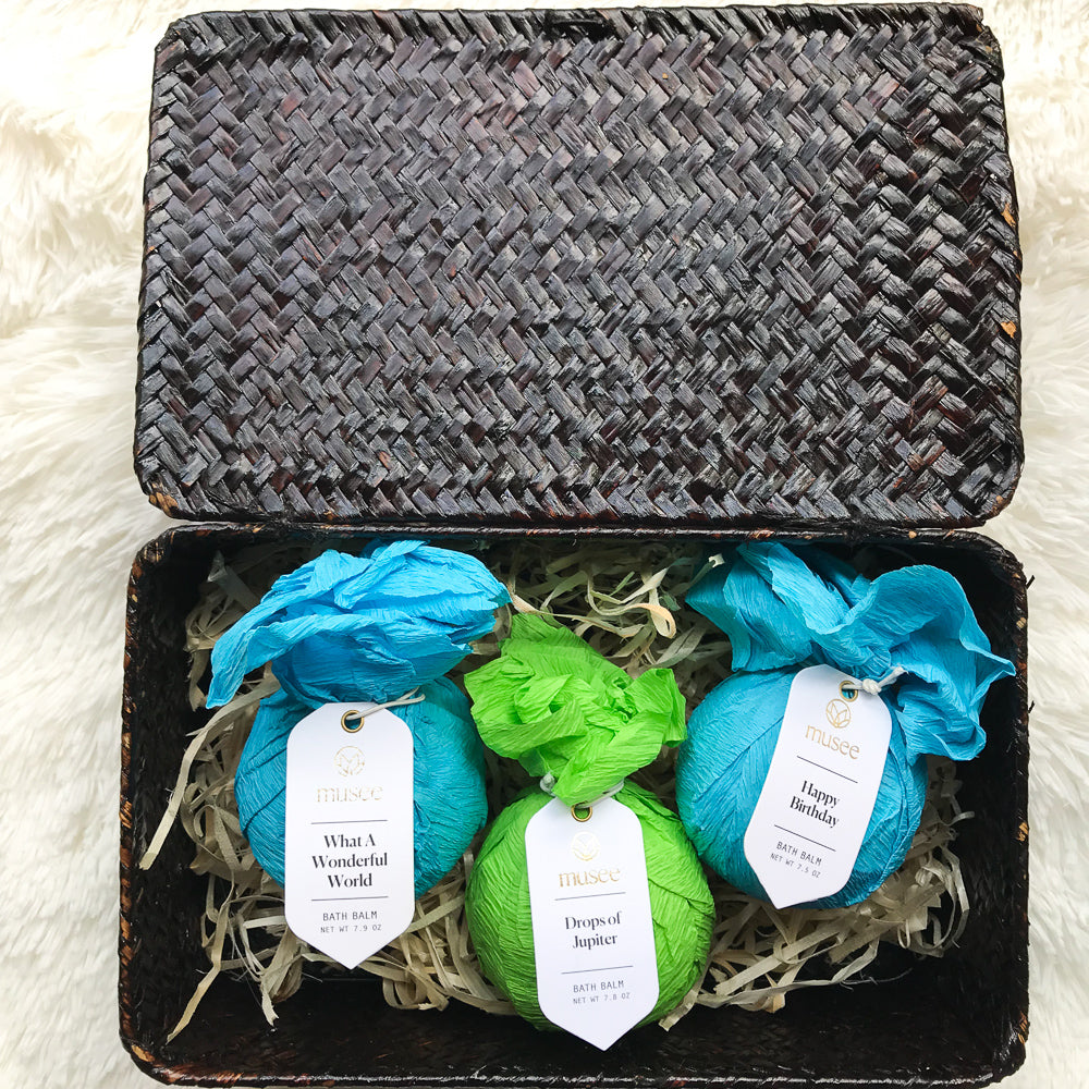 Bath Balms - Gift Basket Set for Boys in decor for kids' room