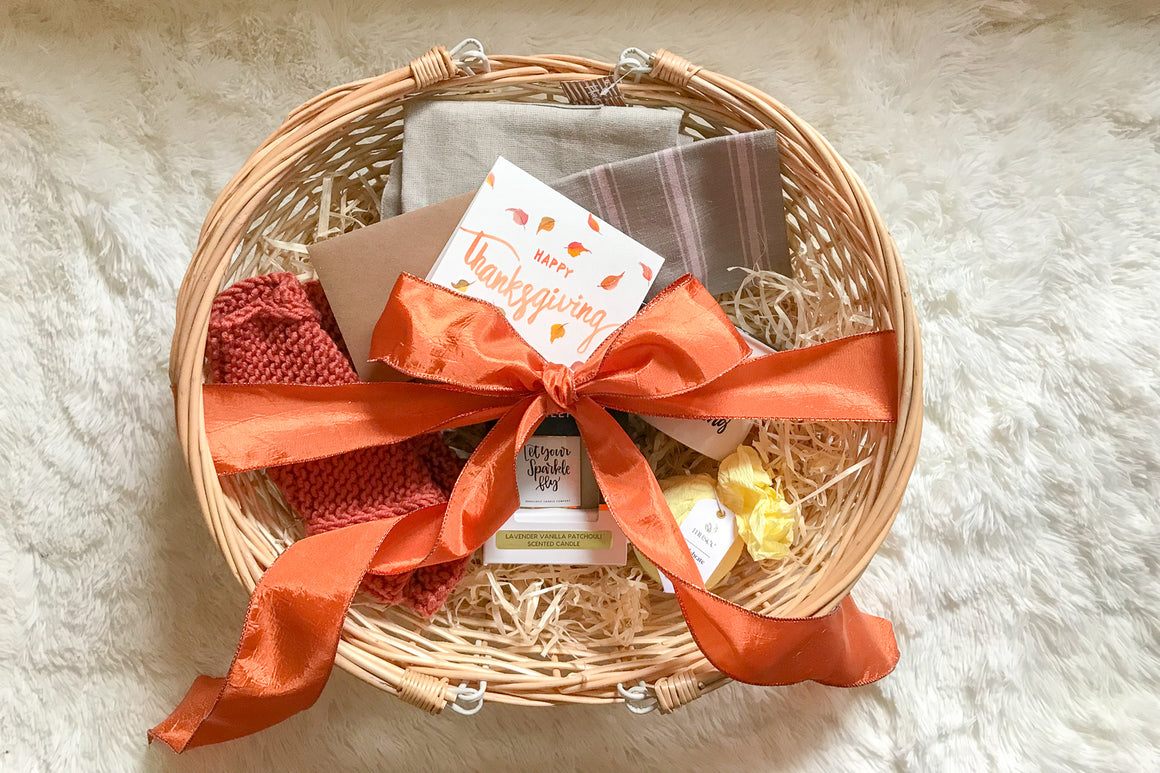 Thanksgiving Gift Basket for Her