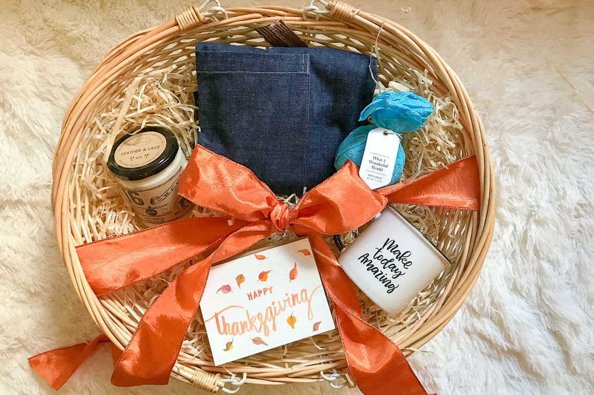 Thanksgiving Gift Basket for Him