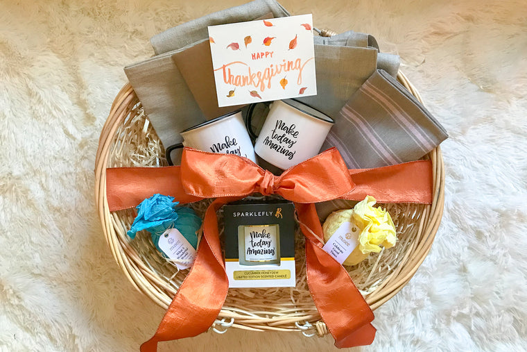 Thanksgiving Gift Basket for Him & Her