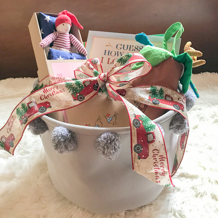 Christmas Gift Basket #6 (Books in English)