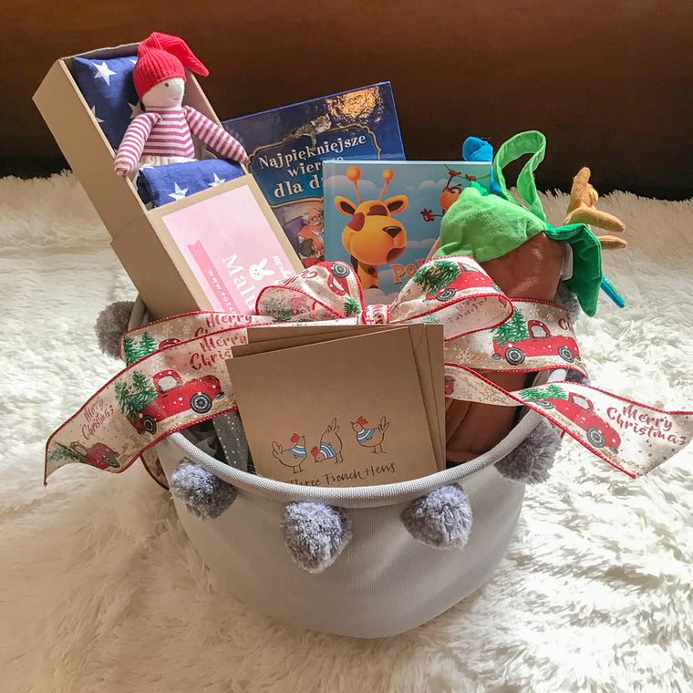 Christmas Gift Basket #7 (Books in Polish)