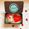 Valentine's Day Gift Basket w/Candle & Tray