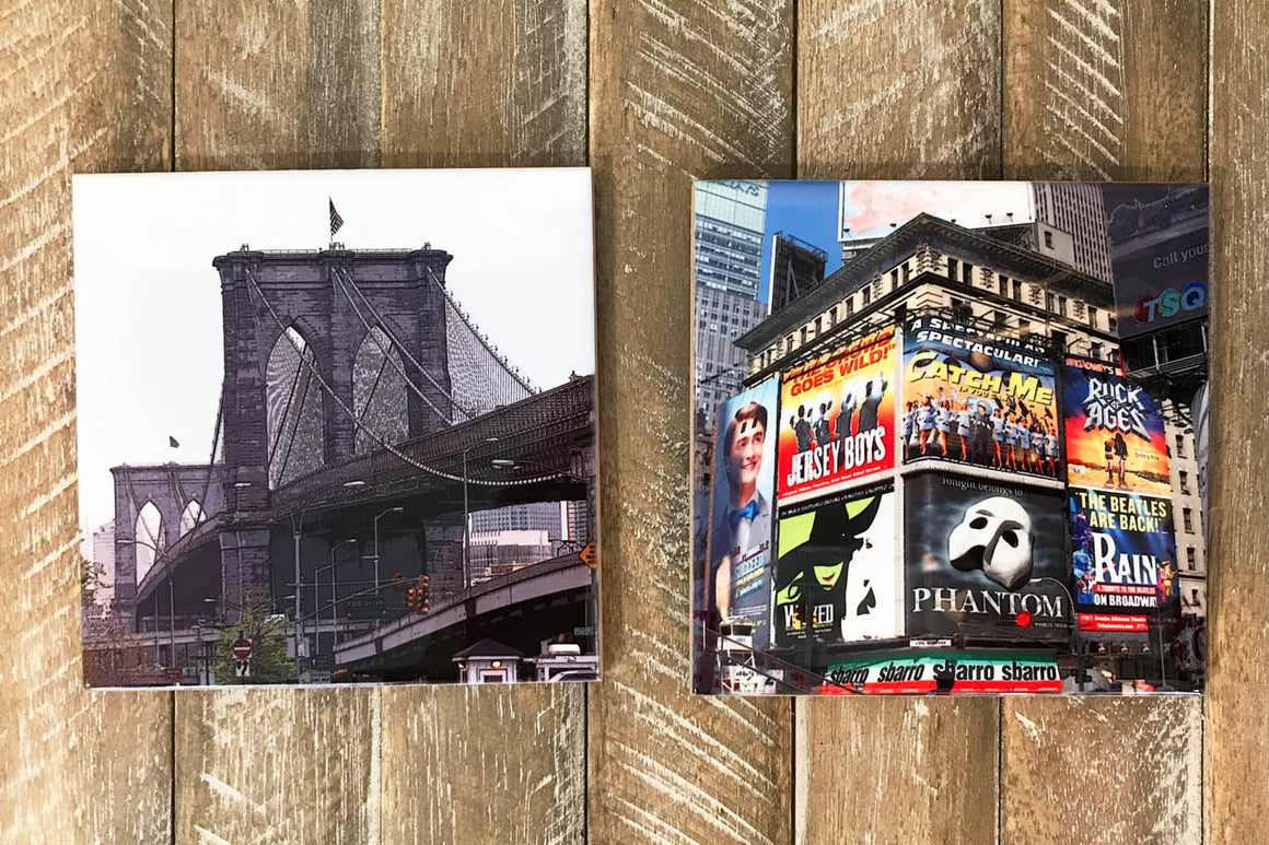 NY Cup Coasters sets - Design 2 (Set of 2)