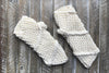 Knitted Fingerless Mittens in Mittens