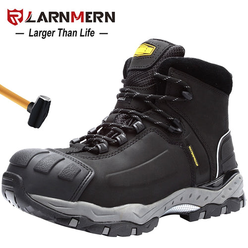 Work Safety Shoes Breathable Construction Protective Footwear Steel Toe Anti-smashing Non-slip Sand-proof Shoes