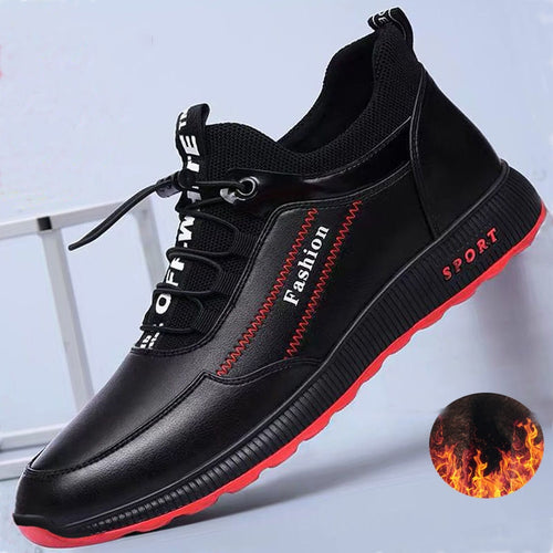 2020 Fashion Leather Winter Casual Shoes