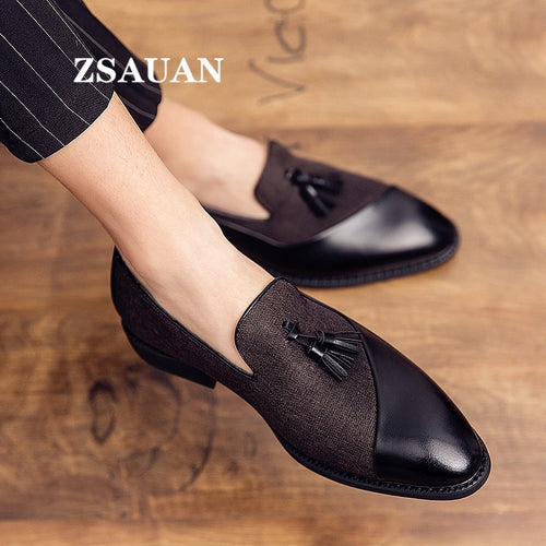 Semi-formal Leather Italian Glamorous Graceful Shoes