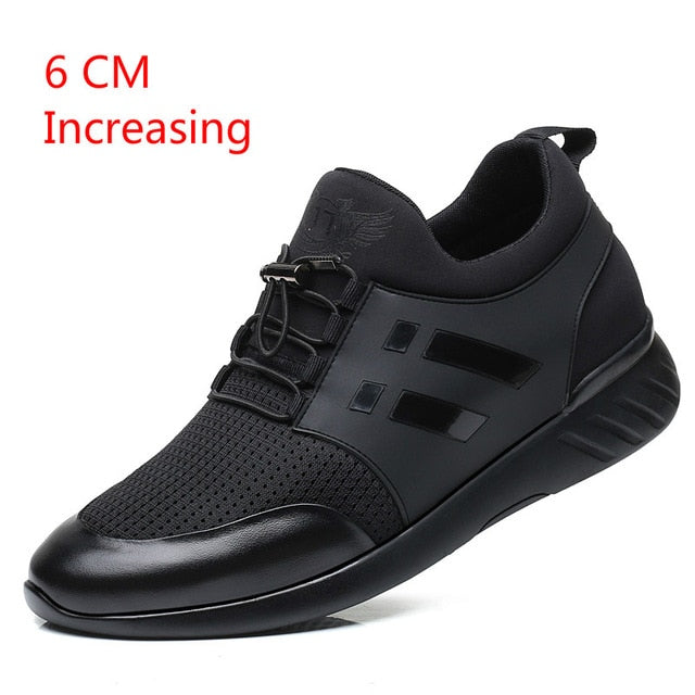 Fashion Sneakers Casual Breathable Genuine Leather Shoes