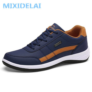 New Fashion Breathable Lace-up Leather Casual shoes