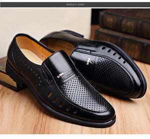 Cow Leather Slip-On Shoe