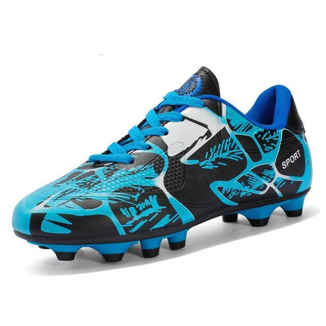Spring Breathable PU Soccer Shoe