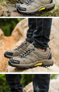 Classic outdoor lace-up sneakers