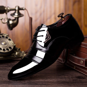 Wingtip Carved Italian Formal Shoe