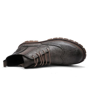 Leather Hiking Shoe