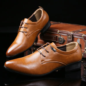 Comfortable Oxford Leather Shoe