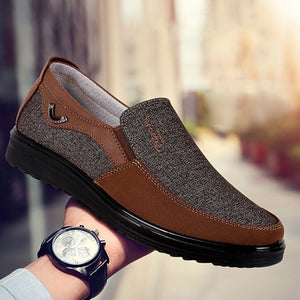 Canvas Loafers Slip on Casual Shoes