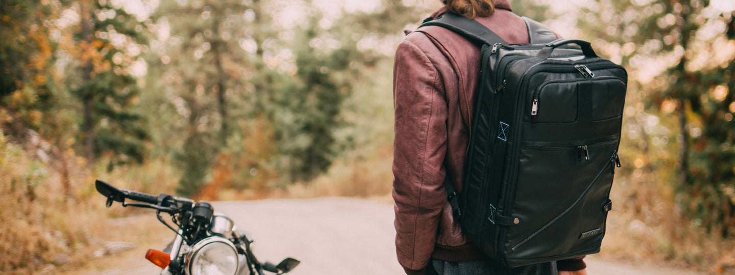 Agile travel backpack