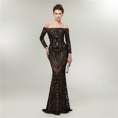 Arabic Mermaid Evening Dresses
