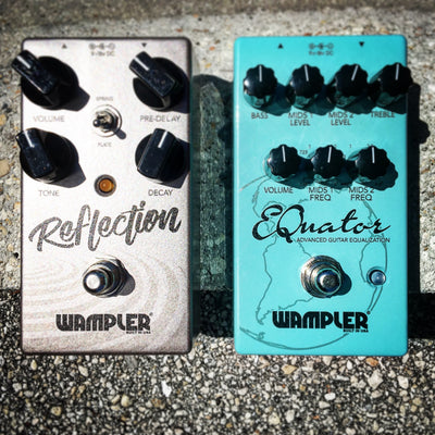 New Wampler Reverb and EQ Pedals