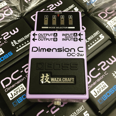 Boss DC-2W and MT-2W In Stock