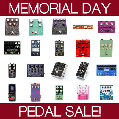 Memorial Day Pedal Sale