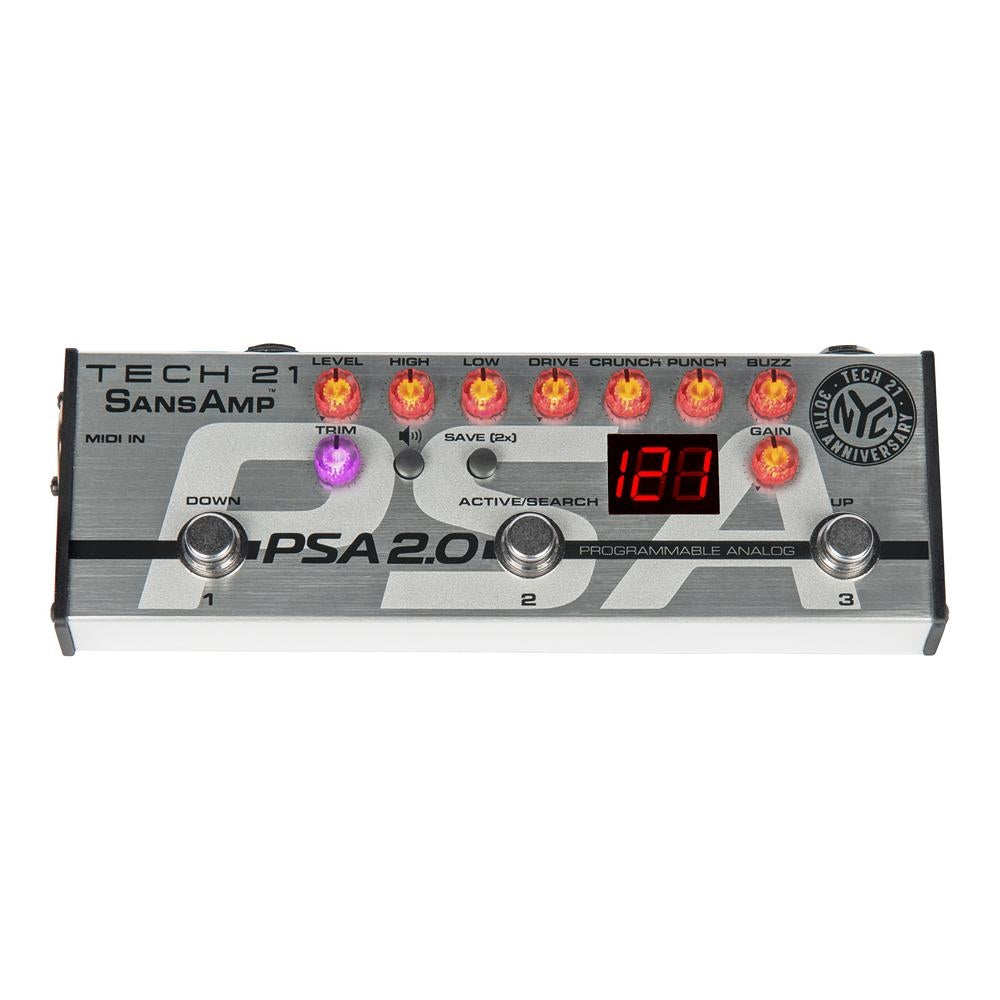 Tech 21 PSA 2.0 SansAmp Programmable Instrument Preamp
