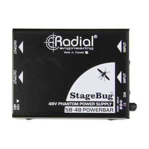 Radial SB-48 Dual Phantom Power Supply