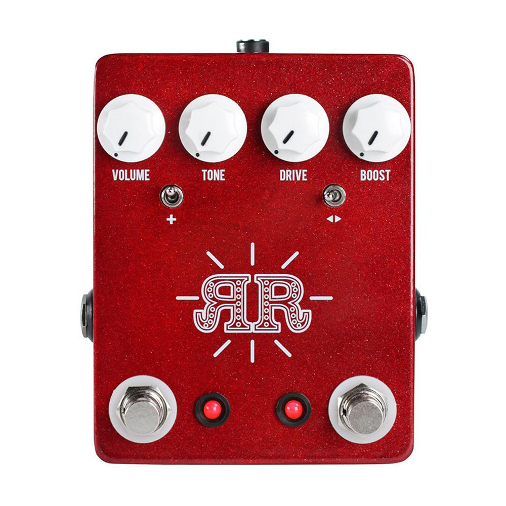 JHS Ruby Red Butch Walker Signature Overdrive Boost