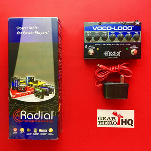 [USED] Radial Voco Loco Microphone Effects Loop & Switcher for Guitar Effects.