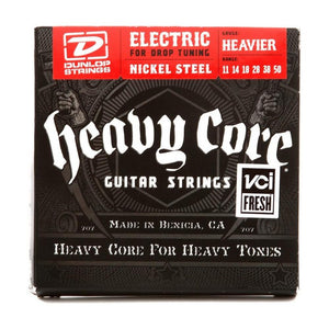 Dunlop DHCN1150 Heavy Core Electric Guitar Strings - Heavier Gauge