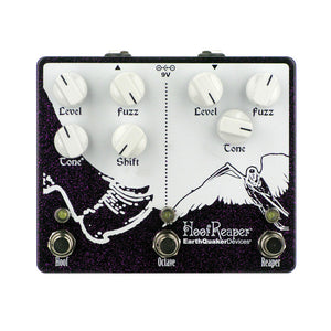 EarthQuaker Devices Hoof Reaper V2 Octave Fuzz, Purple Sparkle (Gear Hero Exclusive)