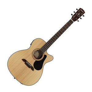 Alvarez AF30CE Artist Series Folk Acoustic-Electric Guitar, Natural Satin Finish