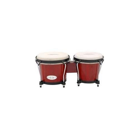 Toca Synergy Series Bongo Set, Red