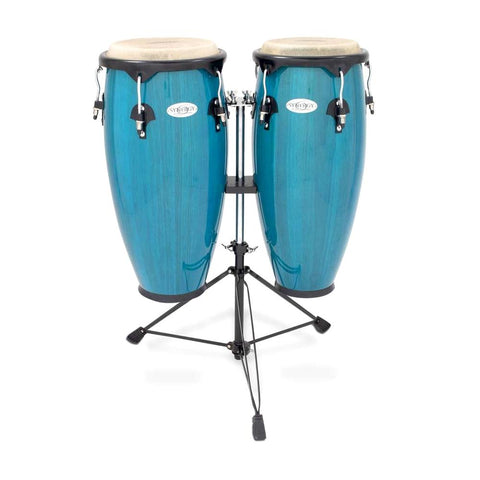Toca 2300BB Synergy Conga Set, Bahama Blue
