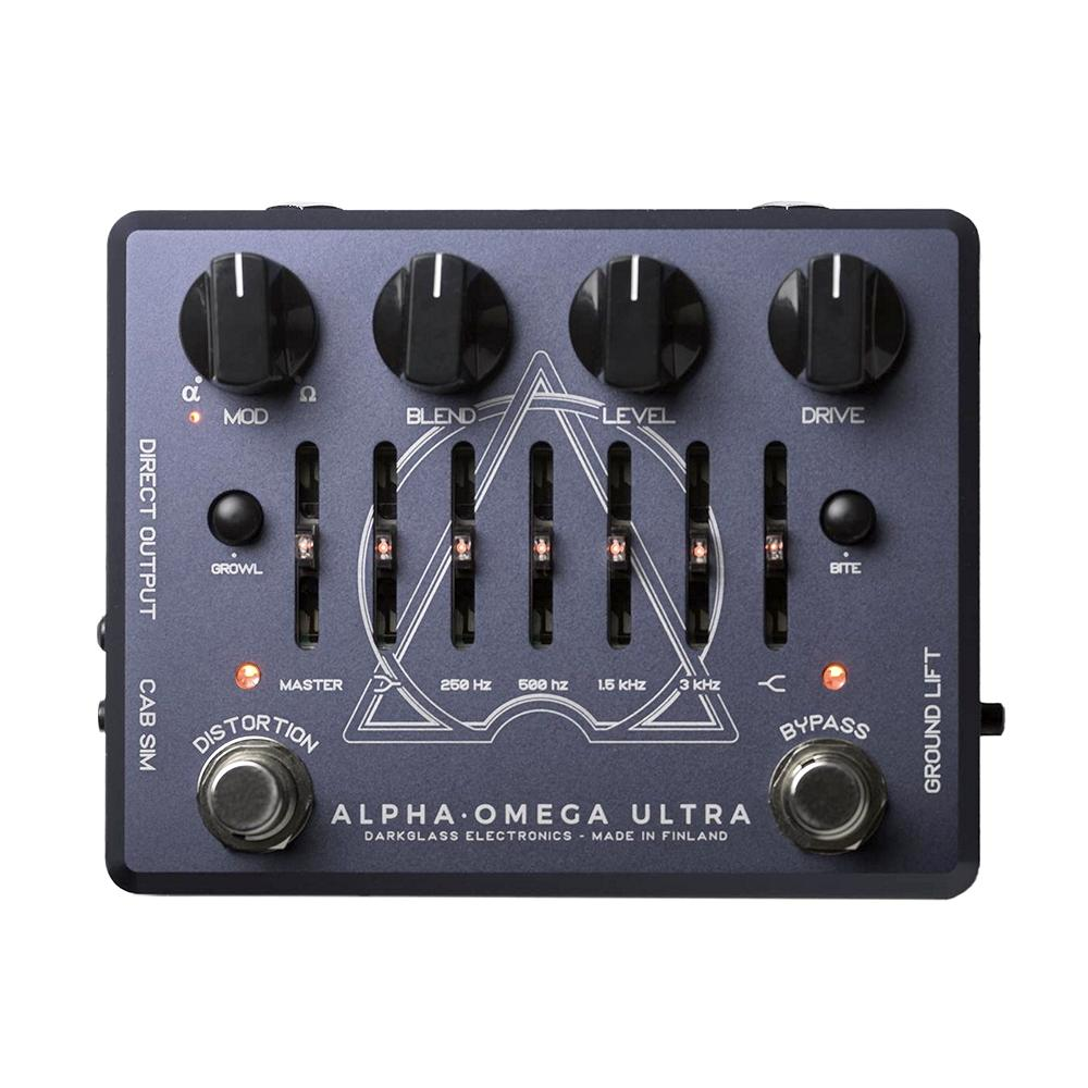 Darkglass Alpha Omega Ultra Bass Preamp Overdrive and IR