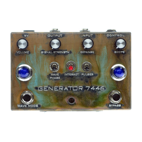 Industrialectric Generator 7446 Fuzz Tremolo Ring Modulator