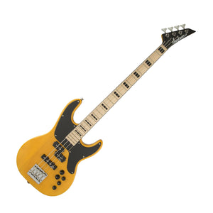 Jackson CBXNTM IV X Series Concert Bass, Butterscotch w/Maple Fingerboard