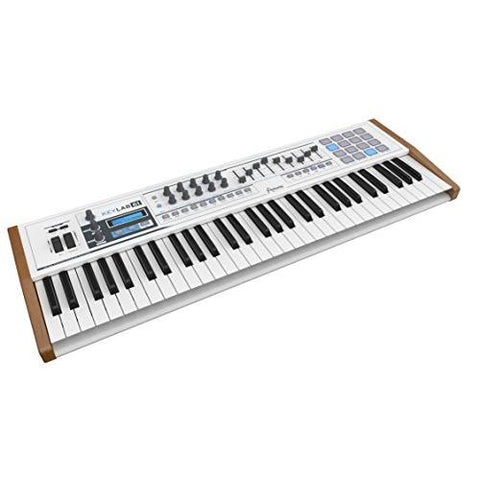 Arturia KeyLab 230431 61-Key Hybrid USB/MIDI Keyboard Controller with Software
