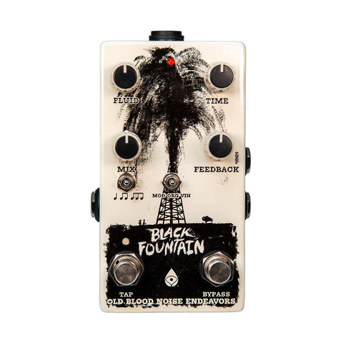 Old Blood Noise Endeavors Black Fountain V3 Tap Tempo Delay