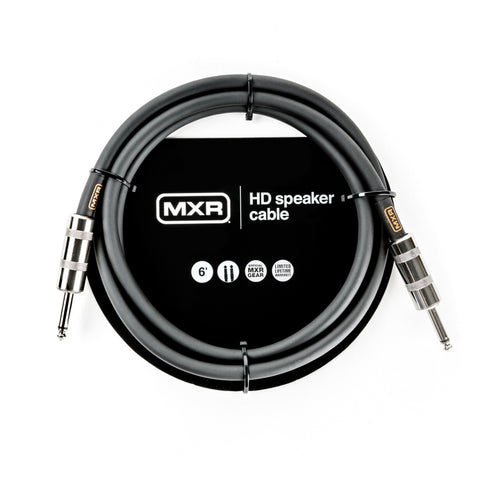 "MXR DCSTHD6 Heavy Duty 6' Speaker Cable 1/4"" to 1/4"""