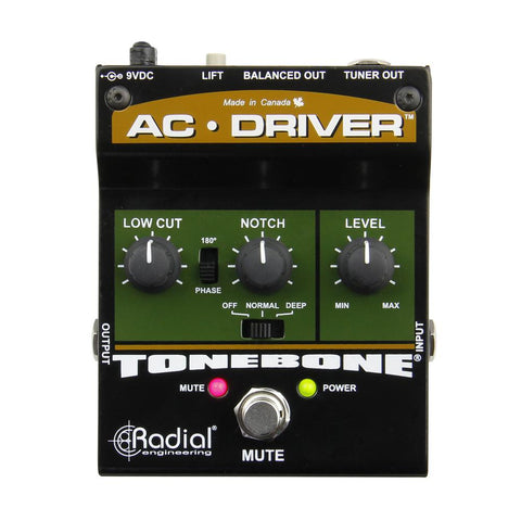 Radial Engineering Tonebone AC Driver Acoustic Instrument Preamp