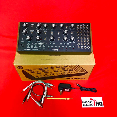 [USED] Moog Mother-32 Semi-modular Eurorack-format Analog Synthesizer