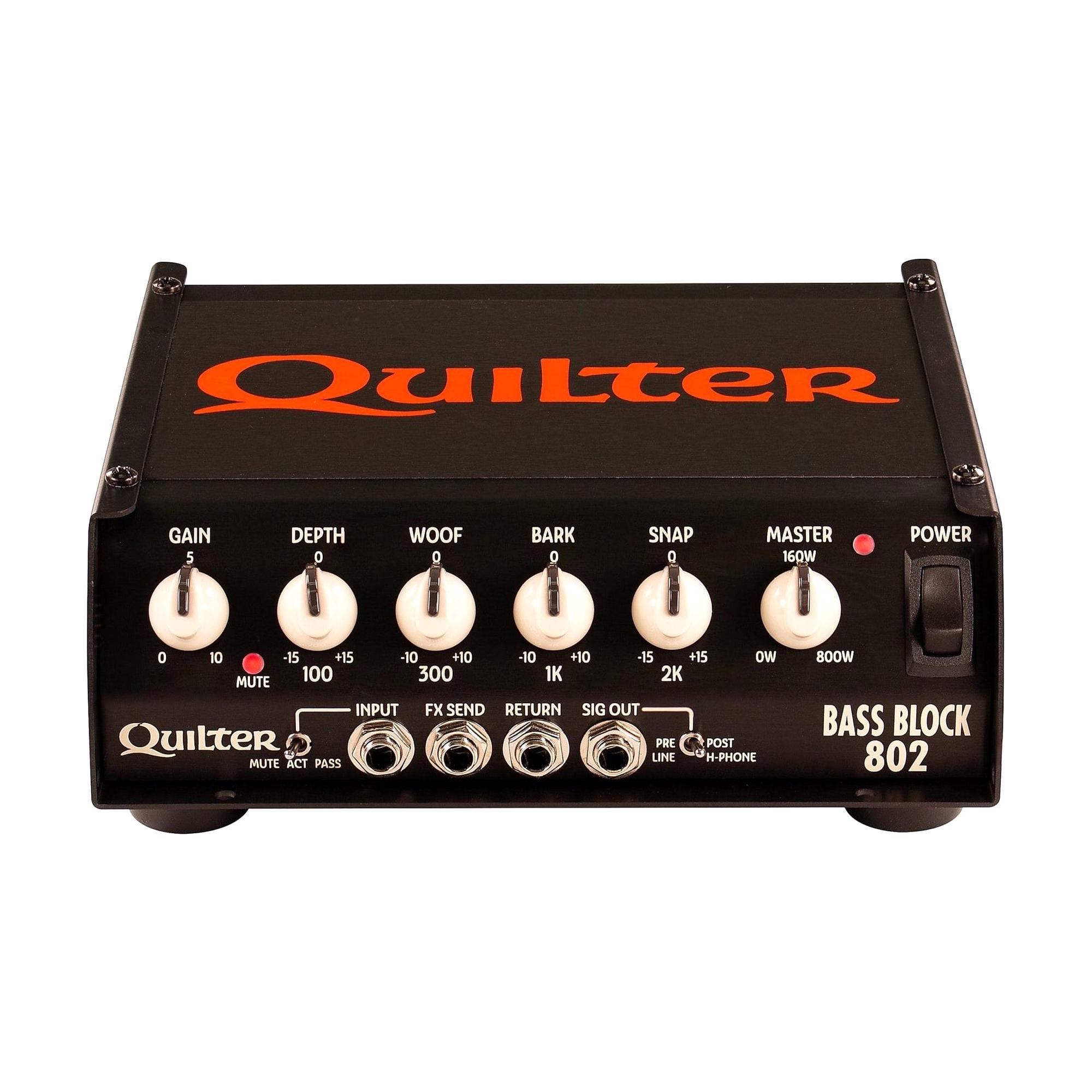 Quilter Labs Bass Block 802 Bass Amp Head