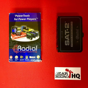 [USED] Radial SAT-2 Stereo Audio Attenuator & Monitor Controller